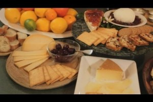 Holiday Cheese Appetizer Platter Recipe : Gourmet Recipes