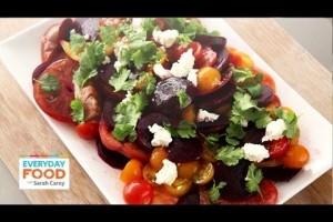 Tomato-Beet Salad – Everyday Food with Sarah Carey