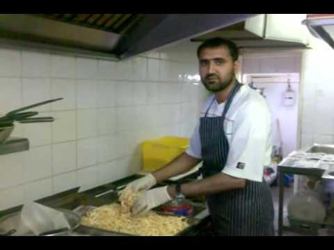Easy Indian Food Recipes : Ingredients for  Onion Bhagi