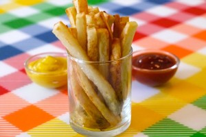 Healthy Snack Ideas for Kids: How to Make Oven Baked Fries – Weelicious