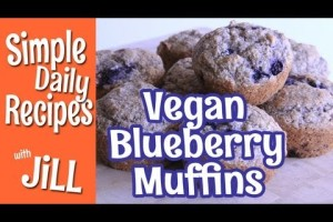 Healthy Whole Wheat Blueberry Muffins – Simple Daily Recipes