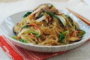 Starch Noodle with Vegetables & Beef – Beef Recipes – Korean Recipes