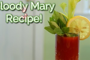 The Edgy Veg: Caesar / Bloody Mary Recipe!