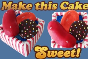 Candy Crush Saga Cake HOW TO COOK THAT Ann Reardon level 33 65 97