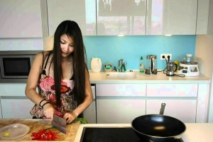 Fast Recipe – Stir Fry Potato With Red Pepper