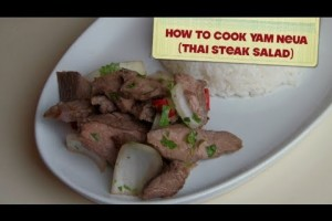 How To Cook: Yam Neua (Thai Steak Salad)