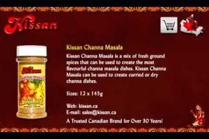 Indian Vegetarian (non) & Vegan Spices/Recipes in Toronto | Channa Masala