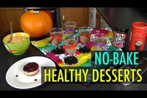 No-Bake Healthy Desserts (Lose Weight Recipes)