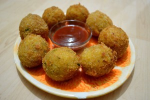 Potato Cheese Balls By:- Chef Shaheen