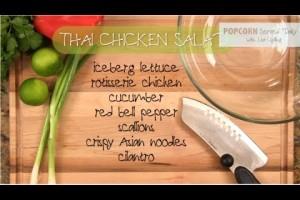 Rotisserie Chicken Thai Salad Recipe: Easy Family Recipe