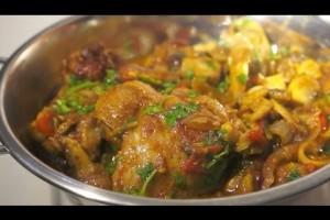Chicken & Mushroom Curry Recipe Indian cooking Masala