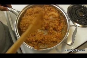 How To Make Mexican Rice / Spanish Rice : NewAgeNomads