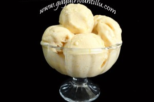 Orange Ice Cream – Natural Fruit Eggless Gelato – Indian Recipes – Andhra Telugu Vegetarian Food