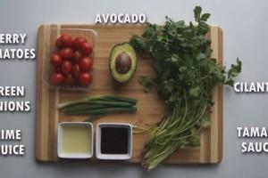 Creamy Zucchini Pasta [Raw Vegan]