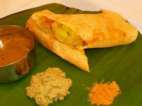 Crispy Dosa Recipe